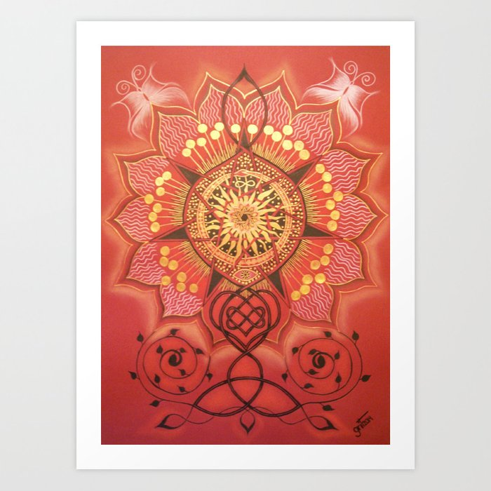 Fairy Star / Haldjatäht Art Print