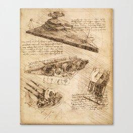 Codex: Star Destroyer Canvas Print