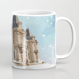 Winter at the Castle Coffee Mug