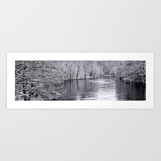 Sillent Winter Art Print