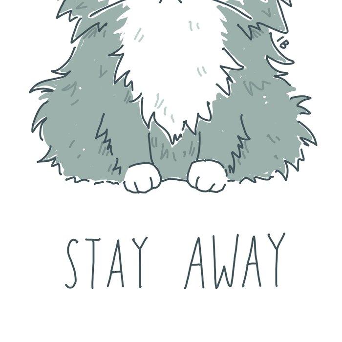 Stay Away Leggings