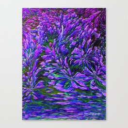 Flowers Are A Gift From God Canvas Print