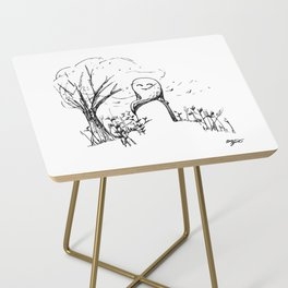A Windy Day Side Table