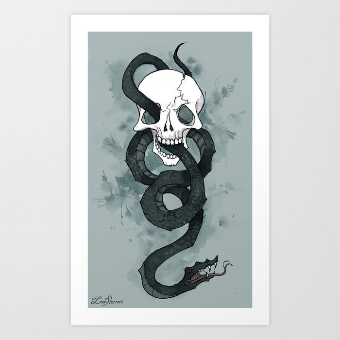 The Dark Mark Kunstdrucke