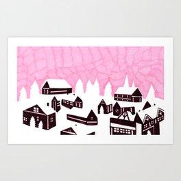 Finland  Art Print