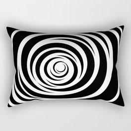 Spinnin Round Rectangular Pillow