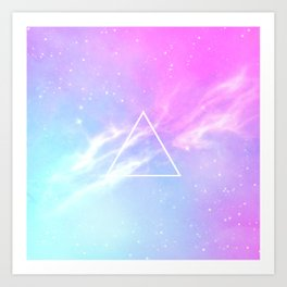Pastel Galaxy Kunstdrucke