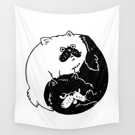The Tao of Cats Wall Tapestry