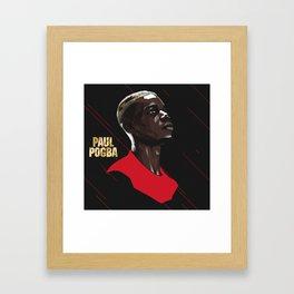 Pogba Framed Art Print