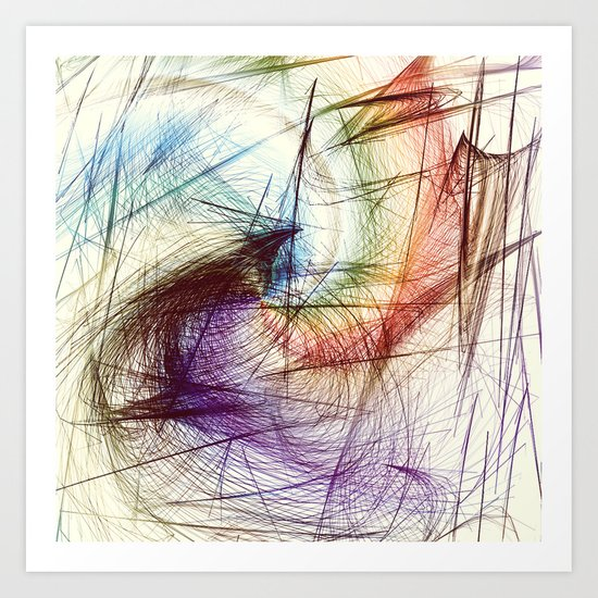 Weave IV Art Print