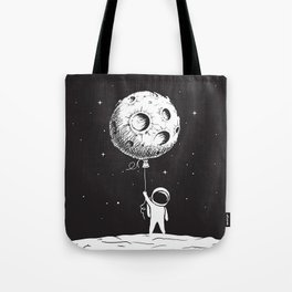 Fly Moon Tote Bag