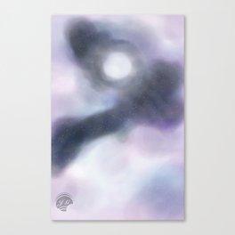 Oh my moon  Canvas Print