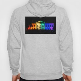 The White House in Rainbow Colors Hoody