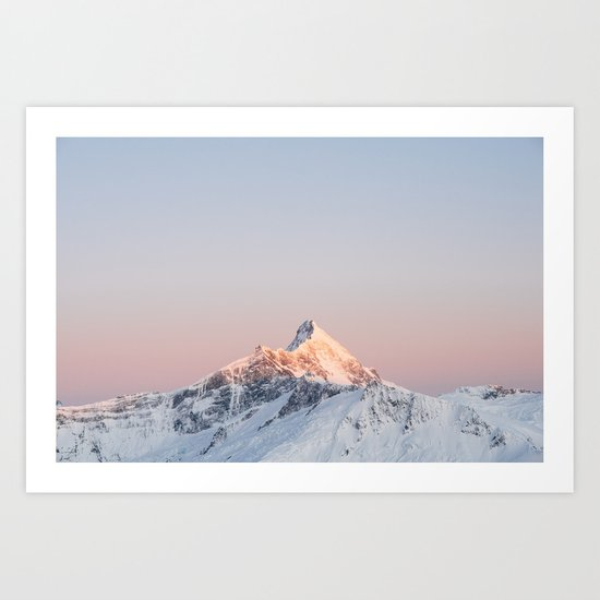 Mt Aspiring, Wanaka, New Zealand Art Print