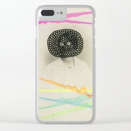 Led Contrast Clear iPhone Case