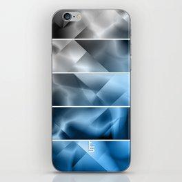 Midnight Satin (Five Panels Series) iPhone Skin