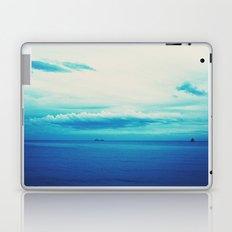 dark blue day Laptop & iPad Skin