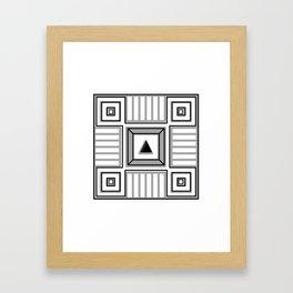 Metaphysical gap Framed Art Print
