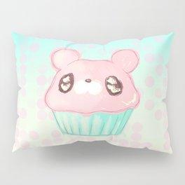 Cupcake Bear Pillow Sham