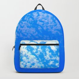 Blue Sky and White Clouds Backpack