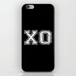 X & O Hugs & Kisses iPhone Skin