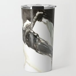 Raven on the Tree Travel Mug