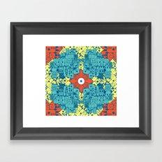 Jeroglyphic Framed Art Print