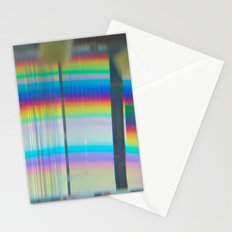 Abstract with rainbow Stationery Cards