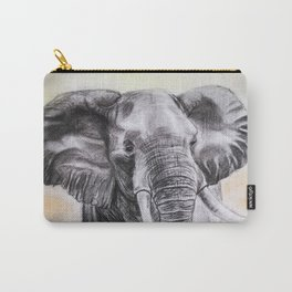 Exotic Elephant Carry-All Pouch