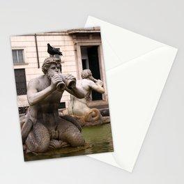 Triton Statue Stationery Cards