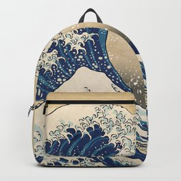 The Great Wave - New York Backpack