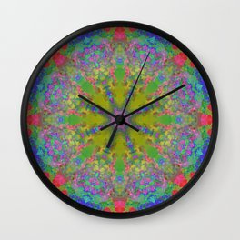 MANDALA NO. 20 #society6 Wall Clock