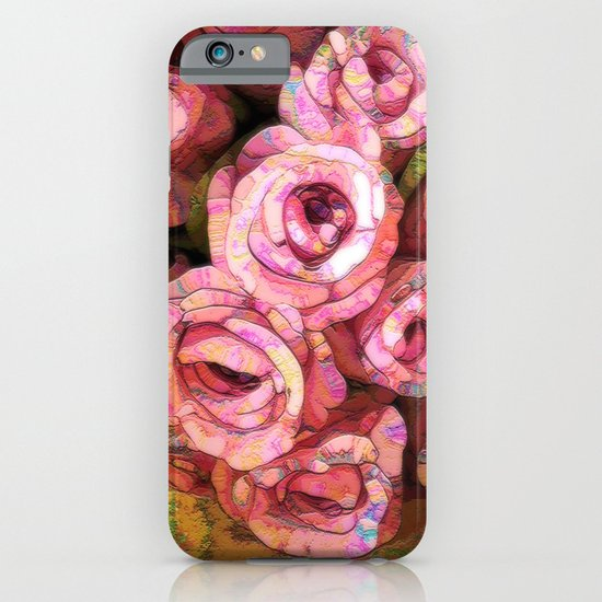 Vintage Wild Roses iPhone & iPod Case