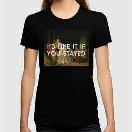 Stay for a Kiss T-shirt
