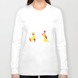 Lady and gentleman Long Sleeve T-shirt