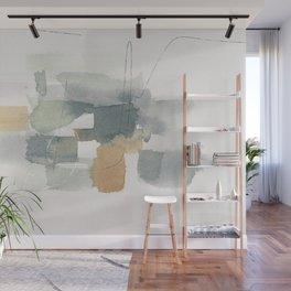 Abstarct Modern Watercolor Painting Wall Mural