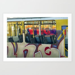 Departure with Ghosts Art Print