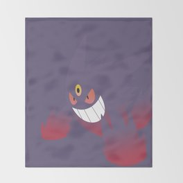Mega Gengar Throw Blanket