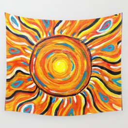 Summer Sun Wall Tapestry