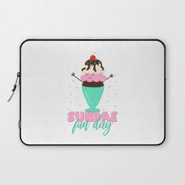 Sundae Fun Day! Laptop Sleeve