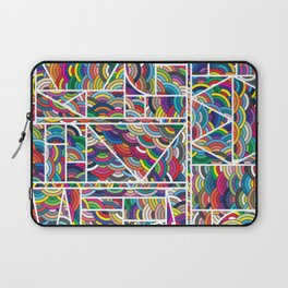 Kaku Technicolor Laptop Sleeve