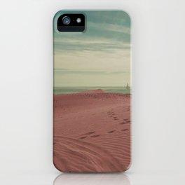 Pink dunes of Maspalomas iPhone Case