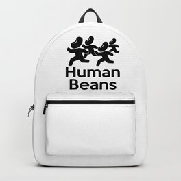 Human Beans (Human Beings) Funny Backpack
