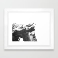 Horse Head III Framed Art Print
