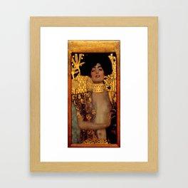 """Gustav Klimt """"Judith I"""", 1901 Framed Art Print"""
