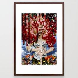 Wonderland - collage art by bedelgeuse Framed Art Print