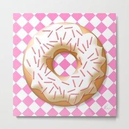 Donut | Pop Art Metal Print