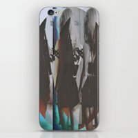 twins iPhone & iPod Skins featuring Twins by Jane Lacey Smith