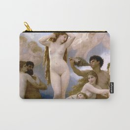 """William-Adolphe Bouguereau """"The Birth of Venus"""" Carry-All Pouch"""
