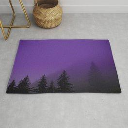 Ultra Violet Fog - Seward Alaska Rug